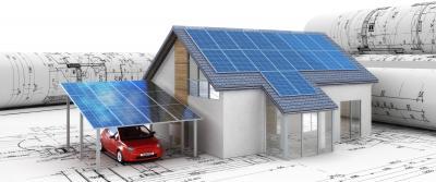Photovoltaik aus einer Hand